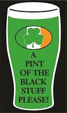 Día de San Patricio una pinta de las cosas Negro T Shirt St Patricks Día Irlandés Irlanda