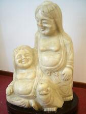 Scultura Buddha in GIADA naturale - altezza 60 cm - statua - arte orientale