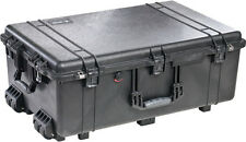 New Pelican 1650 Black case NF empty includes Free engraved nameplate