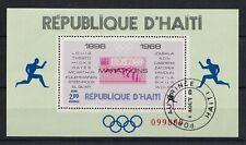 HAITI 1969 Olympic Marathons Mexico 1968 Miniature Sheet
