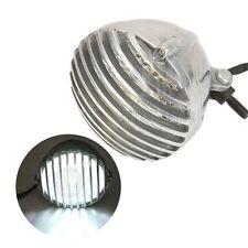 "5"" Motorcycle LED Headlight Grille For Harley Dyna Glide Street Bob V rod Fat"