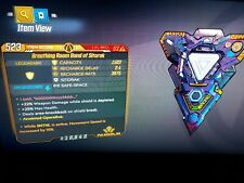 Level 53 Breathing Room Band of Sitorak Zane 15 SNTNL Move Speed 15% xbox BL3