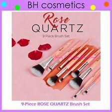 NEW BH Cosmetics 9-Piece ROSE QUARTZ Brush Set FREE SHIPPING Powder Blending Eye