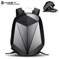 Motorcycle Backpack Motorbike Helmet Bag Waterproof Hard case Black With Handle