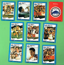 1989  PENRITH PANTHERS  STIMOROL RUGBY LEAGUE CARDS