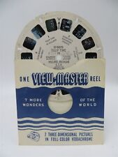 View-Master Reel SP-9071, Tulip Time in Holland, Michigan, Single Reel