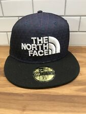 The North Face Mens New Era Hat Cap 7 3/8 NWT 59fifty Purple Jacquard Awesome!