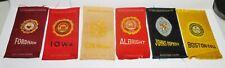 6 Collegiate Tobacco Silks: Fordham, Iowa, Colorado, Albright, Hopkins, Boston
