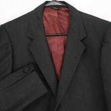 VE JOHN'S Vtg 60s 70s Black Tuxedo BLAZER SPORT COAT SUIT JACKET Men's 42R