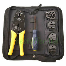 5In1 Engineering Wire Crimpers Terminal Crimping Plier Insulated / Non-insulated