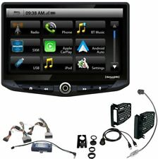 "STINGER 10"" Radio Android Auto/Apple CarPlay Dash Kit+Interface Jeep JK 2011-18"
