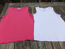 2 x  H&M 100% Cotton Pink Summer Tops.  Age 4-5