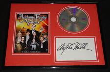 Anjelica Huston Signed Framed 11x14 Addams Family Values DVD & Photo Display