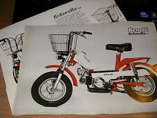 benelli  motorella    (prospekt folder catalogo depliant) ANNI '70/'80