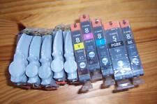 5 original cartuchos Canon PIXMA ip4500 nuevo 5-pgbk cli-8 M/C/y/BK o. cartón nuevo