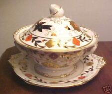 Royal Crown Derby ASIAN ROSE Sauce Tureen w/ Underplate