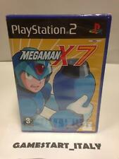 MEGAMAN X7 - MEGA MAN - SONY PS2 PLAYSTATION 2 - NEW SEALED PAL VERSION NUOVO