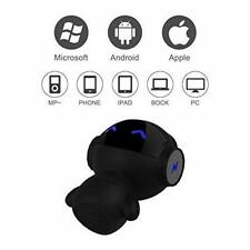Black RSM Wireless Bluetooth Stereo Speaker Portable For Sound Audio iOS/Android