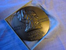"Medallic Art Company MAC Emma Willard Large 3"" Bronze Medal 1967 3 Inches!"