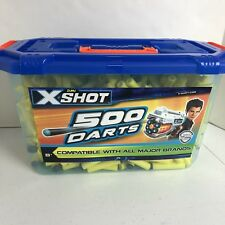 Nerf bullets ebay zuru x shot 500 darts nerf compatible soft darts gun refills storage case new stopboris