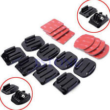 Flat Curved Adhesive Mount Helmet Accessories For Gopro Hero 1/2/3 /3+ Kit 8Pcs