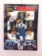 L'annuel Rds Formule 1 - 1997 - Course Automobile -Jacques Villeneuve Couverture