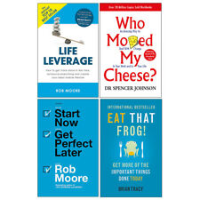Who Moved My Cheese,Eat That Frog,Start Now,4 Books collection set Paperback NEW
