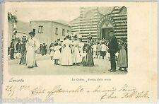 60297  - CARTOLINA d'Epoca - LA SPEZIA provincia :  LEVANTO  1909 - BELLA!