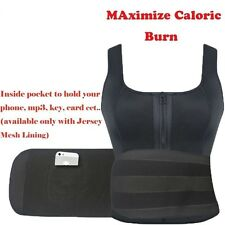 Neoprene Slimming Vest Sauna Suit Thermal Waist traimmer Weight Loss Workout Top