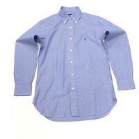 Ralph Lauren Men's Striped Classic Fit Shirt In Blue/White