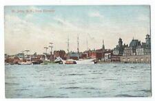 Vintage Postcard St. John, N.B., from Elevator, Posted.