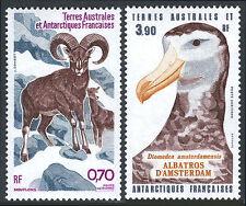 FSAT TAAF C85-C86, MNH. Corsican Sheep, Amsterdam Albatross, 1985