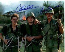 CHARLIE SHEEN WILLEM DAFOE & TOM BERENGER signed autographed PLATOON photo