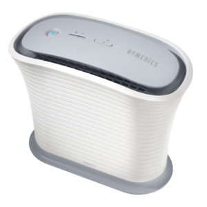 HoMedics TotalClean True HEPA Air Purifier Fan for Small Room AP-15A-GB