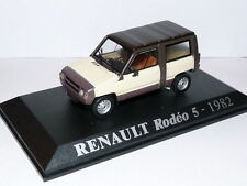 4L8F voiture 1/43 M6 Universal Hobbies : RENAULT Rodeo 5 1982