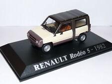 voiture 1/43 M6 Universal Hobbies : RENAULT Rodeo 5 1982