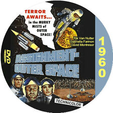 """Assignment Outer Space (1960) Classic Sci-fi and Horror """"B"""" Movie DVD"""