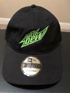 New Era 9TWENTY Mountain Dew Adjustable Cap - Black