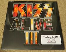 KISS ALIVE 3 RED COLORED VINYL FACTORY SEALED #347