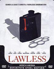 Dvd SteelBook **LAWLESS** con Tom Hardy nuovo 2012