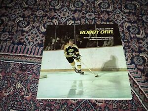 The Two Sides of Bobby Orr Vinyl Record Album LP - Boston Bruins