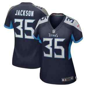New 2021 NFL Chris Jackson Tennessee Titans Nike Women's Player Game Jersey NWT