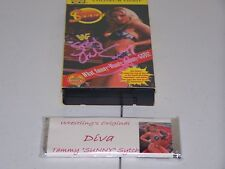 A153 Sunny signed Vhs Tape w/ Very Rare Candy Bar w/Coa *Please Read *