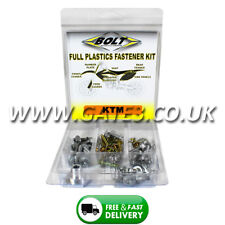 KTM 250SXF SXF 250 2011-2015 Full Plastics Fastener Kit - Nuts/Bolts/Washers