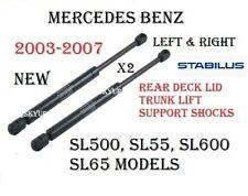 Trunk Lid Lift Support Shocks Struts SET For Mercedes W230 SL500 SL55 SL600 SL65