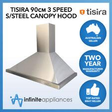 Tisira 90cm Stainless Steel Canopy Kitchen Rangehood (TRH9-1-L) 900mm LED