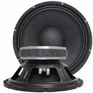 "SEISMIC AUDIO - Pair of 10"" Bass Guitar Raw WOOFERS Speaker Driver Replacements"