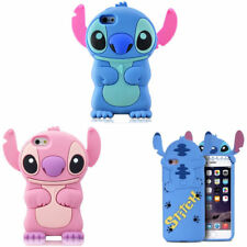 3D Stitch Silicone Phone Case For iPhone X 4 5 6 7 8 Samsung S8 S9 LG Motorola