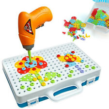 Take Apart Creative Construction Toy Kit Puzzles Assembly Drill Tool Toy Set Diy