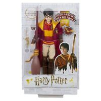 HARRY POTTER Quidditch Poseable Doll, Nimbus 2000 Broomstick and Golden Snitch